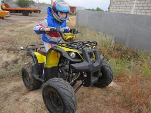 IRBIS (Ирбис) 125 - детский квадроцикл с недетскими возможностями