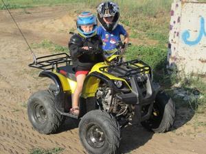 Управление детским квадроциклом Ирбис 125