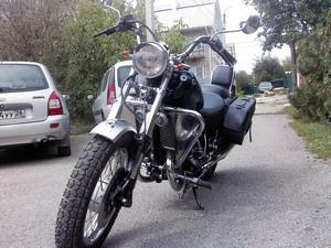 Конструктивное описание мотоцикла ИЖ Юнкер
