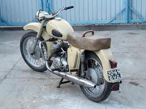 Габаритные размеры мотоцикла ИЖ Юпитер-2