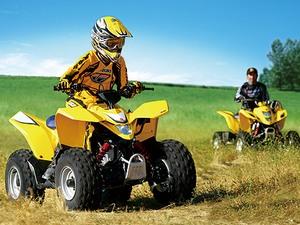 Описание детской модели квадроцикла Suzuki QuadSport Z90