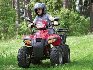 Популярность детских бензиновых квадроциклов