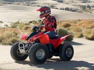 Квадроцикл Honda TRX 90 / TRX 90X - краткое описание