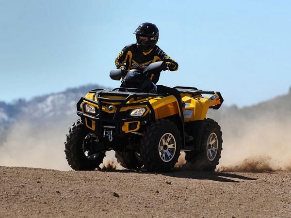 Фотогалерея квадроцикла BRP Outlander Max 800 - фото 12