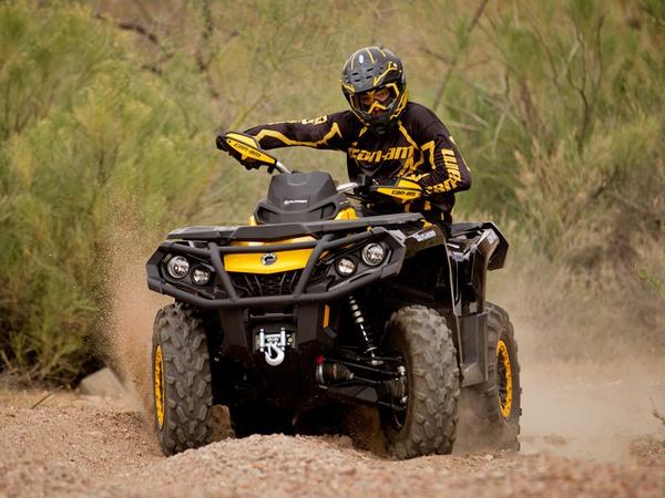 Фотогалерея квадроцикла BRP Outlander Max 800 - фото 15