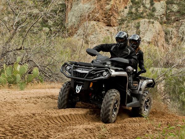Фотогалерея квадроцикла BRP Outlander Max 800 - фото 17