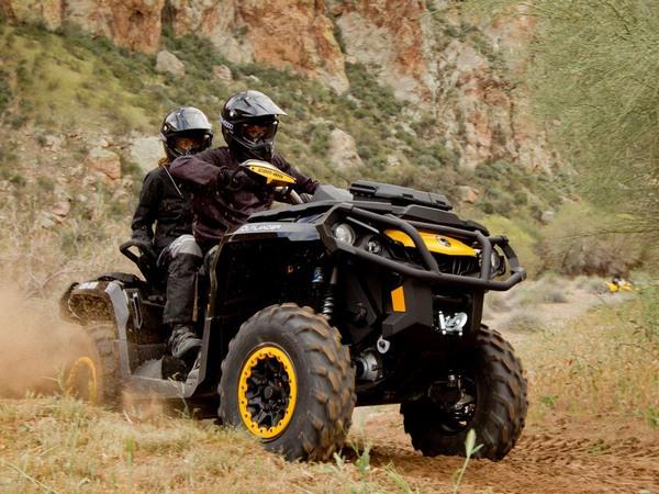 Фотогалерея квадроцикла BRP Outlander Max 800 - фото 19