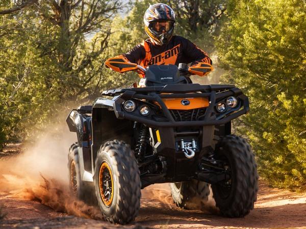 Фотогалерея квадроцикла BRP Outlander Max 800 - фото 2