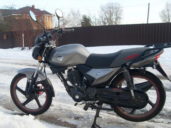 Фотогалерея мотоцикла Ирбис GS 150 - фото 5