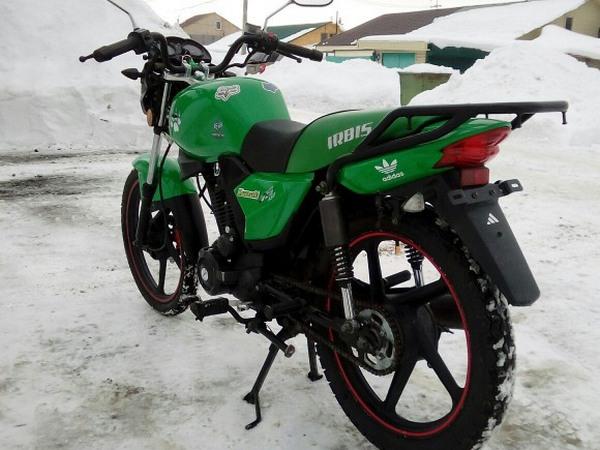 Фотогалерея мотоцикла Ирбис GS 150 - фото 9