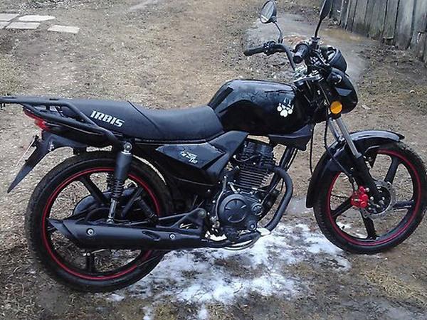 Фотогалерея мотоцикла Ирбис GS 150 - фото 17