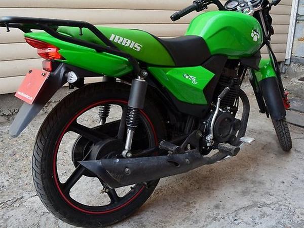 Фотогалерея мотоцикла Ирбис GS 150 - фото 19