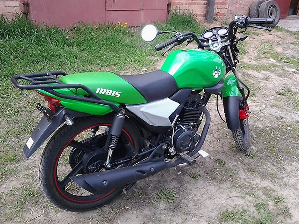 Фотогалерея мотоцикла Ирбис GS 150 - фото 20