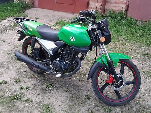 Фотогалерея мотоцикла Ирбис GS 150 - фото 21