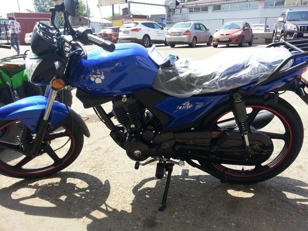 Фотогалерея мотоцикла Ирбис GS 150 - фото 24