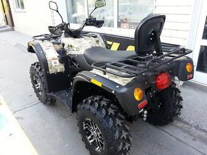 Конструкция ATV Stels 600 Leopard