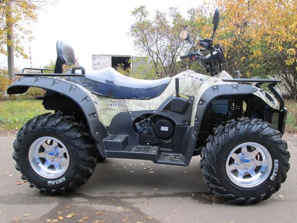 Фотогалерея квадроцикла Stels ATV 500 GT - фото 4