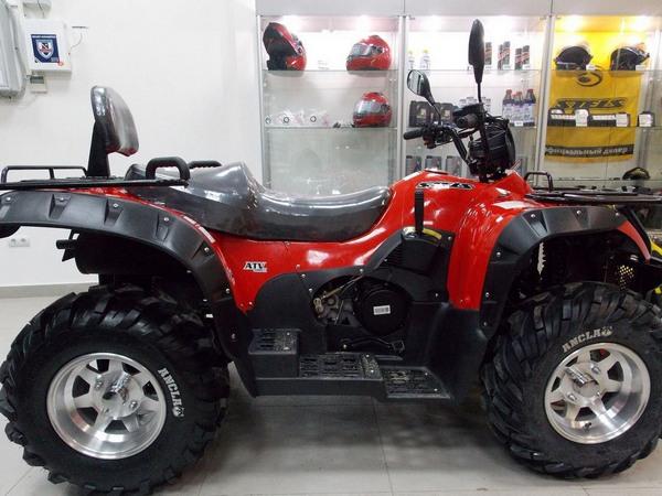 Фотогалерея квадроцикла Stels ATV 500 GT - фото 6