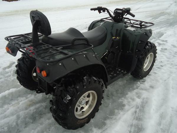 Фотогалерея квадроцикла Stels ATV 500 GT - фото 7