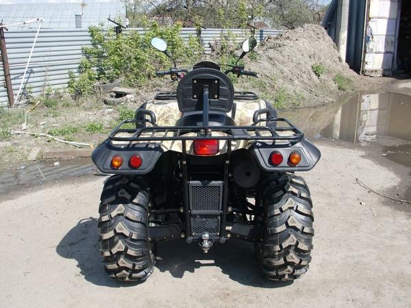 Фотогалерея квадроцикла Stels ATV 500 GT - фото 9