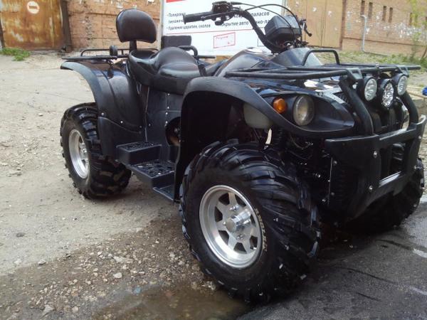 Фотогалерея квадроцикла Stels ATV 500 GT - фото 10