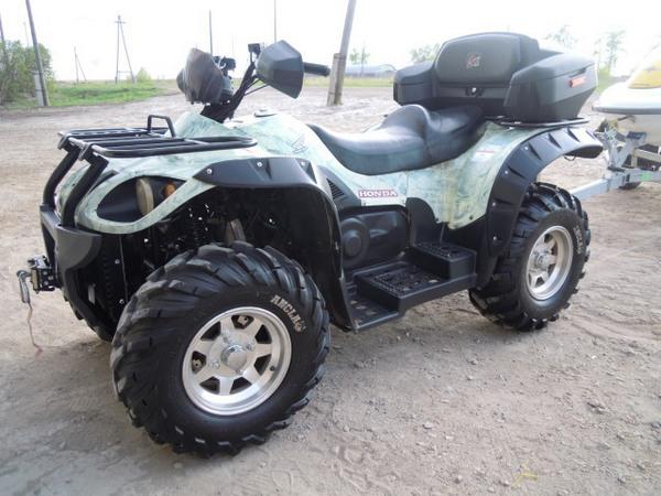 Фотогалерея квадроцикла Stels ATV 500 GT - фото 11