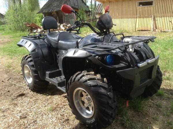 Фотогалерея квадроцикла Stels ATV 500 GT - фото 12