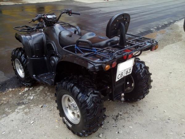 Фотогалерея квадроцикла Stels ATV 500 GT - фото 13
