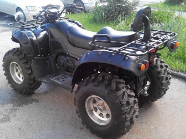 Фотогалерея квадроцикла Stels ATV 500 GT - фото 16