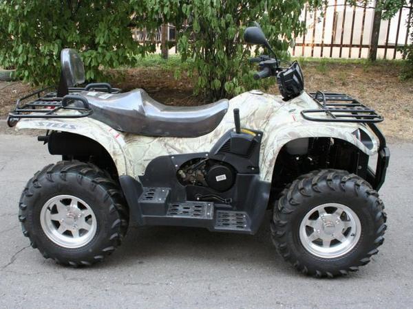 Фотогалерея квадроцикла Stels ATV 500 GT - фото 21