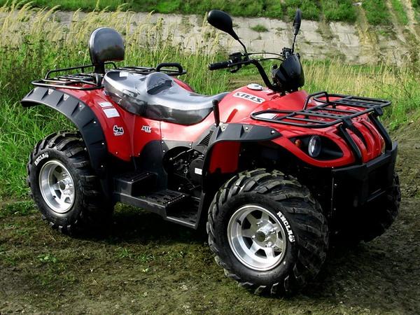 Фотогалерея квадроцикла Stels ATV 500 GT - фото 22