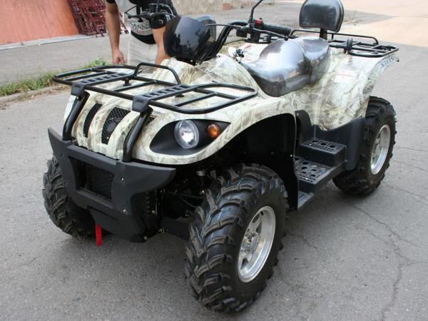 Фотогалерея квадроцикла Stels ATV 500 GT - фото 23