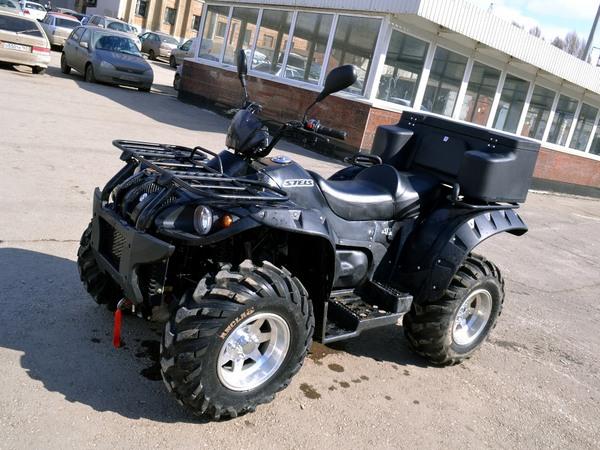 Фотогалерея квадроцикла Stels ATV 500 GT - фото 1