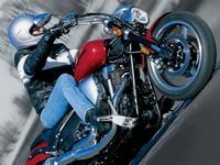 Ямаха Варриор 1700 - летящий силуэт, мощный и красивый в каждой детали мотор