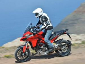 Оформление экстерьера мотоцикла Дукати Мультистрада 1200 С