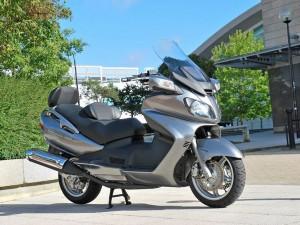 Обзор скутера Suzuki Burgman - Skywave 650