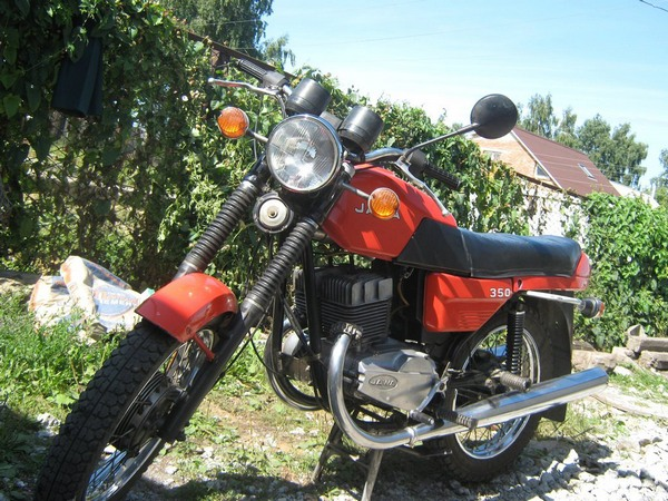 Фотогалерея мотоцикла Ява-350-638 - фото 1