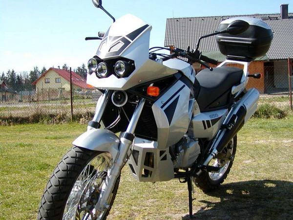Фотогалерея мотоцикла Jawa 650 Dakar - фото 10