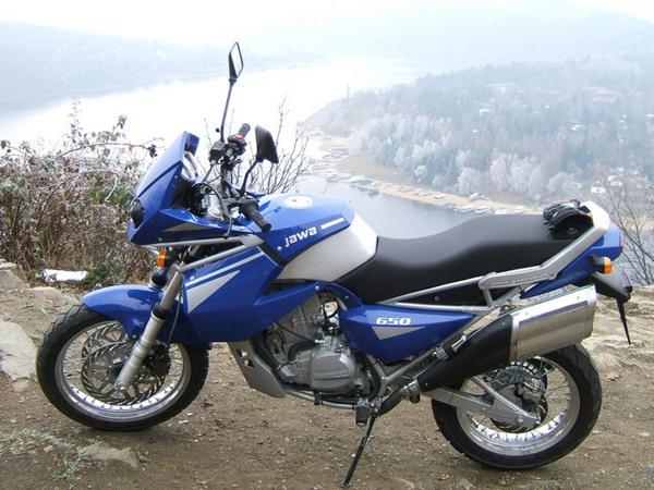 Фотогалерея мотоцикла Jawa 650 Dakar - фото 8