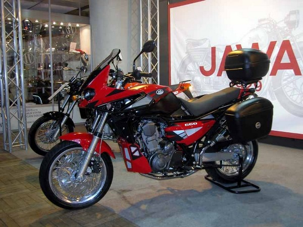 Фотогалерея мотоцикла Jawa 650 Dakar - фото 7