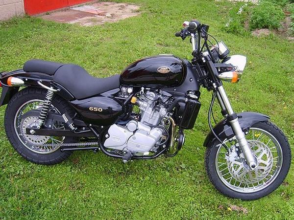 Фотогалерея мотоцикла Jawa 650 Dakar - фото 1