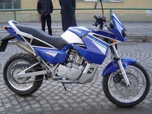 Описание мотоцикла Jawa 650 Dakar