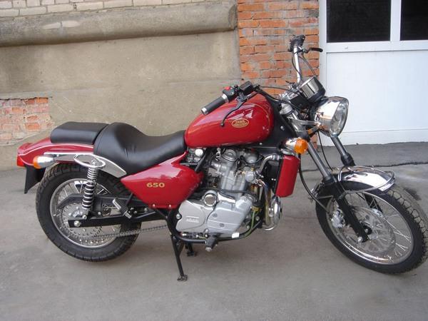 Фотогалерея мотоцикла Jawa 650 Dakar - фото 13