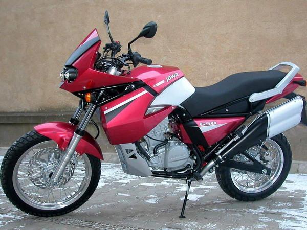 Фотогалерея мотоцикла Jawa 650 Dakar - фото 12