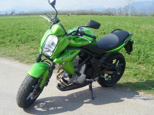 Фотогалерея мотоцикла Kawasaki Er-6n - фото 10