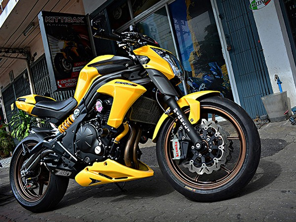 Фотогалерея мотоцикла Kawasaki Er-6n - фото 2