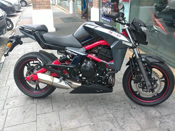 Фотогалерея мотоцикла СFMOTO 650 NK - фото 10