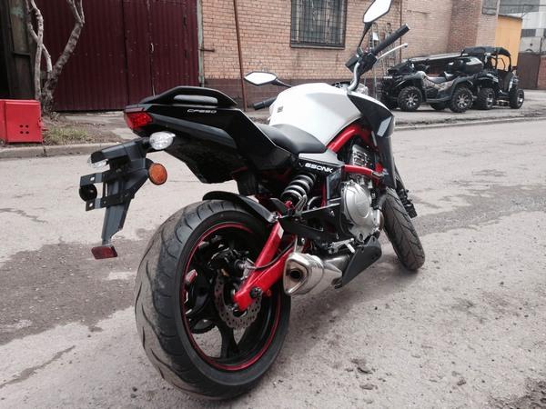 Фотогалерея мотоцикла СFMOTO 650 NK - фото 16
