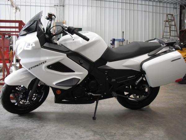 Фотогалерея мотоцикла CFMoto 650 ТК - фото 12