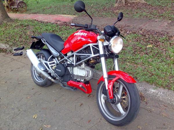 Фотогалерея Ducati Monster 400 фото - 6